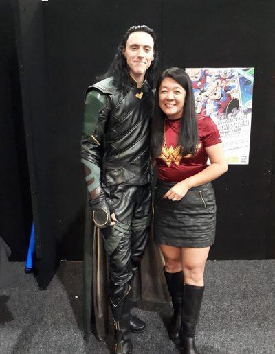 Debby and Loki!